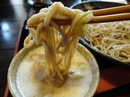 かき庵、うま辛~油 と十割そばの有名な 宮島口のお店