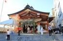 広島 すみよしさん(住吉祭)、残り半年の健康を祈願する 広島三大祭