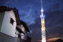 三良坂スカイツリー、広島県三次市で49分の1サイズのスカイツリーが誕生!