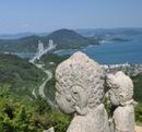 白滝山 五百羅漢、因島の360度絶景パノラマスポットへ行こう