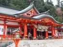 太鼓谷稲成神社、津和野駅近くの おいなりさんに参拝を