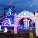大竹駅前イルミネーション、子どもたちへのお礼で灯します