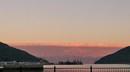 津波?!一瞬ドキッとする、雲津波が広島を覆っている風景