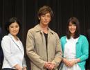 玉木宏や吉田栄作など福山市で会見、映画 「探偵ミタライの事件簿」キャスト揃う
