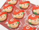手づくりカープ坊や、天光堂の職人が手がけるかわいい和菓子が発売