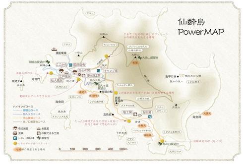 鞆の浦 仙酔島マップ
