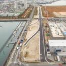 商工センターと廿日市を結ぶ湾岸線、開通前にウォーキングイベント開催