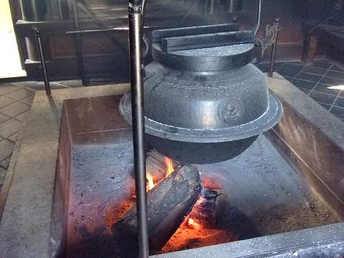 大茶釜の湯