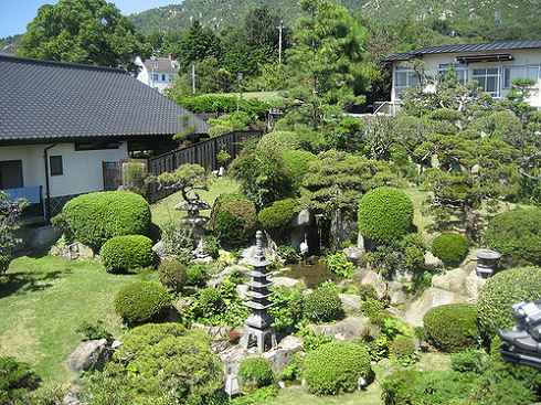 宮浜温泉 かんざきの庭園