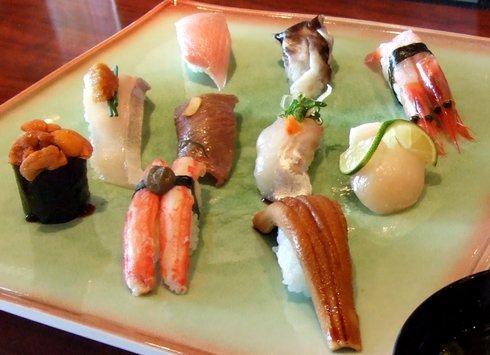 がんゆうてい 巌遊庭、お寿司の見た目も綺麗