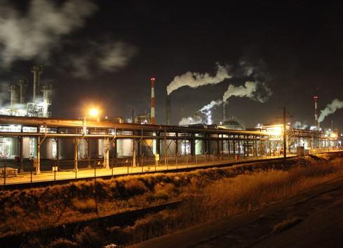 大竹コンビナートの夜景、工場萌え 2