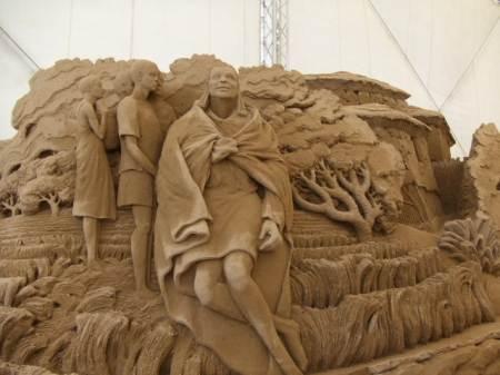 鳥取 砂の美術館 画像9