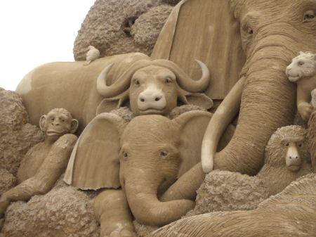 鳥取 砂の美術館 画像12