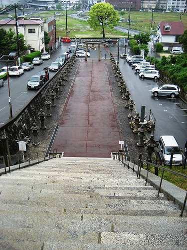 広島東照宮と仏舎利塔