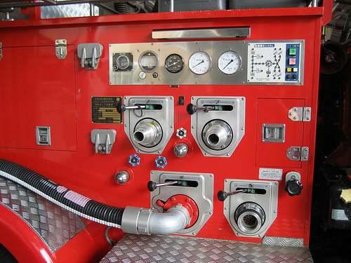 スケルトン消防署 消防車2