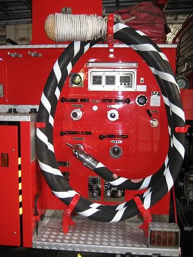 スケルトン消防署 消防車11
