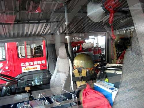 スケルトン消防署 消防車14