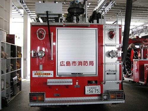 スケルトン消防署 消防車13
