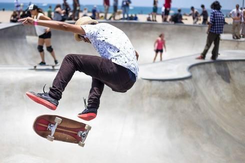 スケートボード BMXなどのリンクが廿日市市に!はつかいち青少年多目的広場