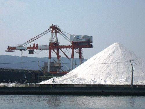 音戸 島全体が 塩の山 になっている三ツ子島3