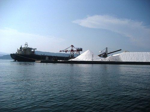 音戸 島全体が 塩の山 になっている三ツ子島4