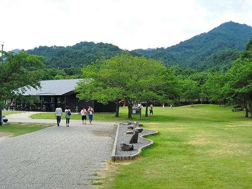 宮島SA下りの緑の公園