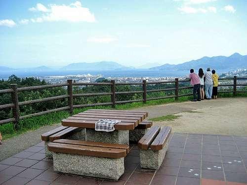宮島SAの展望台
