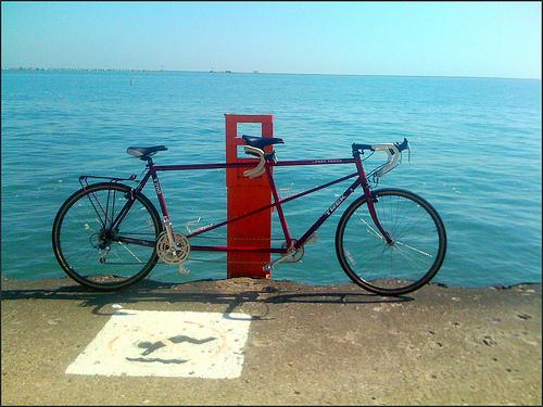 タンデム自転車 解禁
