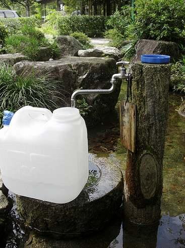 小瀬川温泉 湧き水と温泉飲用水4