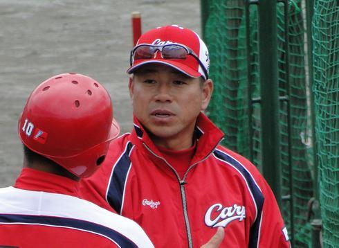 カープ 町田コーチ