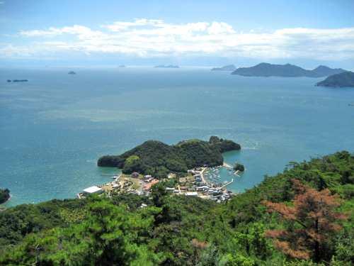 高見山 尾道市 向島から瀬戸内海を一望