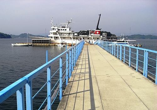 広島商船の練習用桟橋