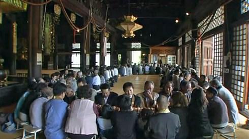 大念珠繰り、福山市で巨大な25mの数珠を回して無病息災を祈る