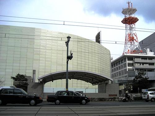 旧広島市民球場 解体はじまる