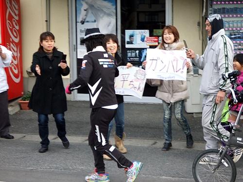間寛平 アースマラソン 広島 画像3