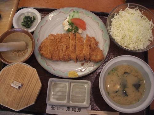 恵庭屋 広島 とんかつ屋 13