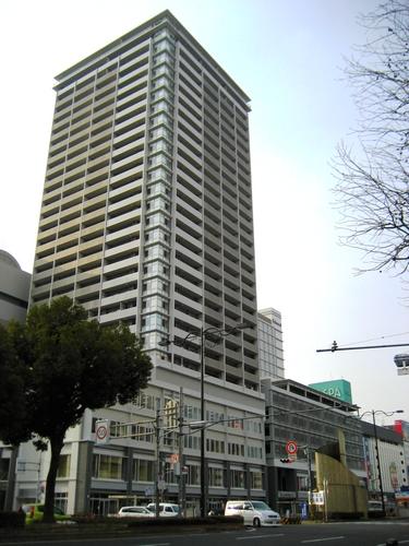 アイネスフクヤマ 福山駅前再開発の店舗・ホテル・住居など複合ビル