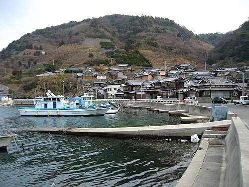 鹿島、段々畑の美しい風景が広がる 広島県・最南端の有人島