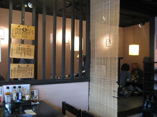 かき庵 ラー油 蕎麦屋の画像5