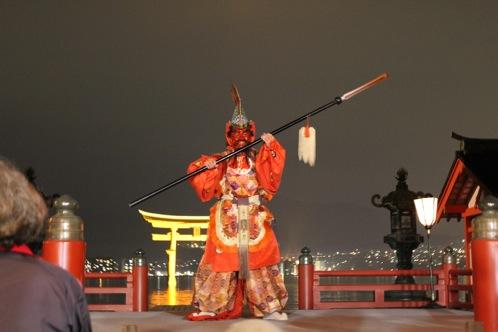 宮島 厳島神社の桃花祭12