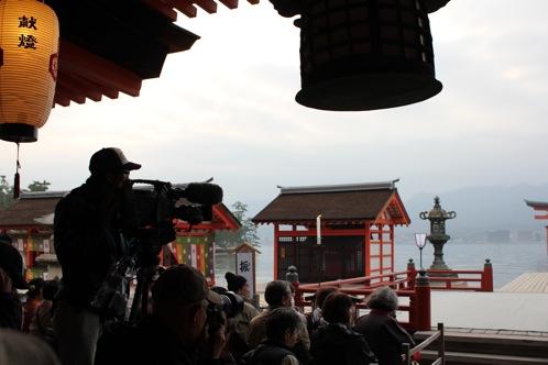 宮島 厳島神社の桃花祭4