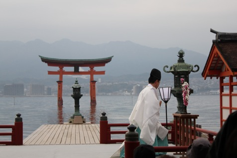 宮島 厳島神社の桃花祭8