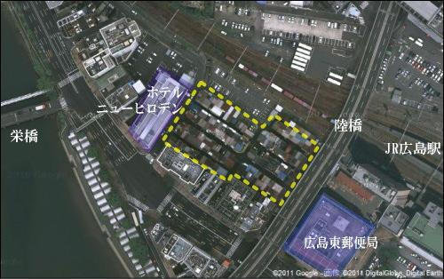 広島駅前 地図