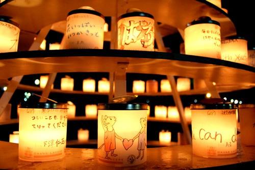 広島 フラワーフェスティバル ライトアップ