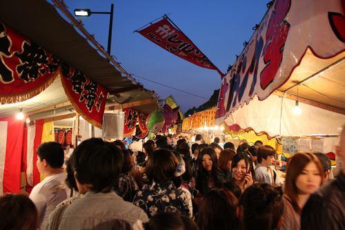 とうかさん 2011 浴衣祭りが広島市にて始まる