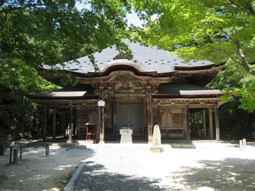 広島 極楽寺、豊な自然の中の重要文化財