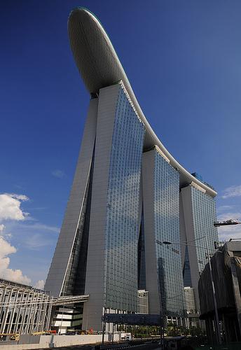 スマップ シンガポール CMのホテル マリーナベイサンズ