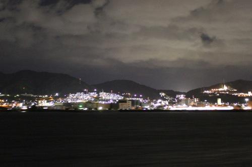瀬戸内海汽船 銀河 ナイトクルージング 画像7