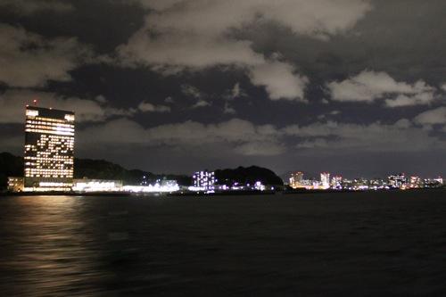 瀬戸内海汽船 銀河 ナイトクルージング 画像9