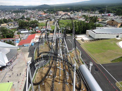 ギネスブックに認定された 富士急の高飛車